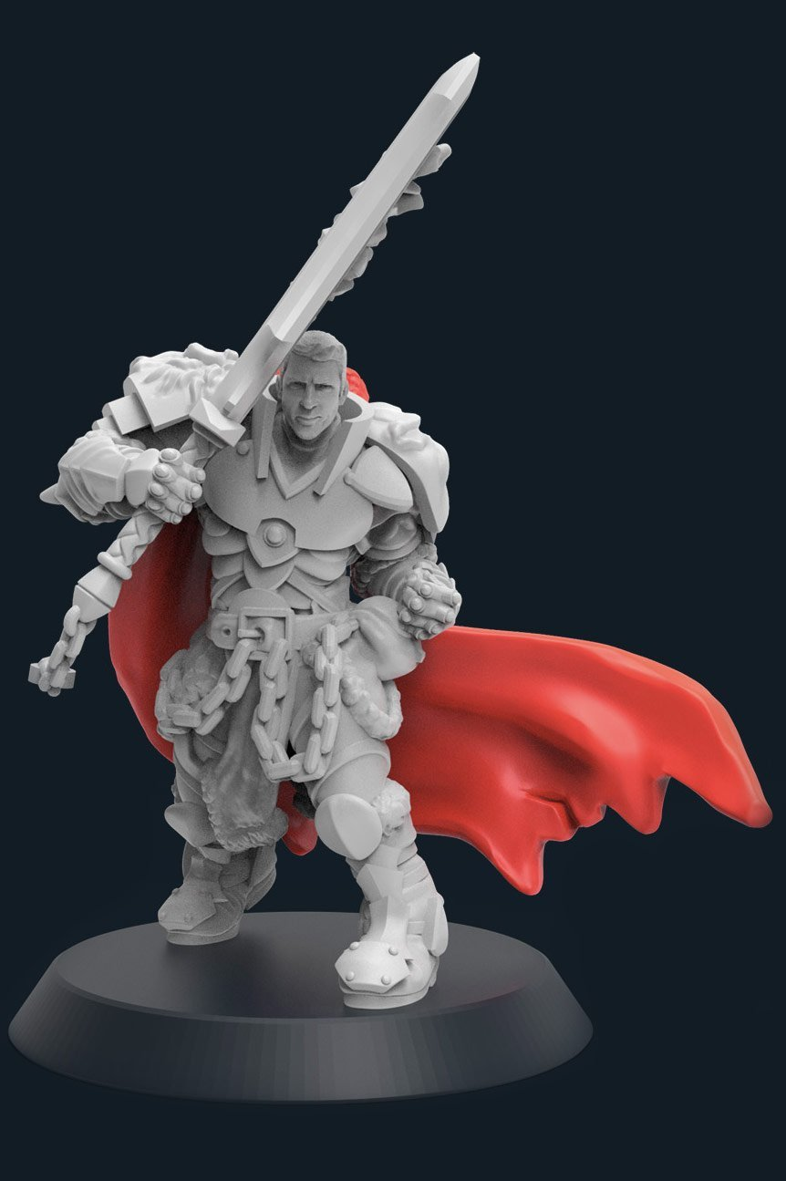 good miniature for 3d printing