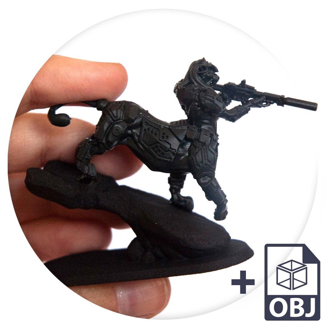 custom 3d printed miniature high definition