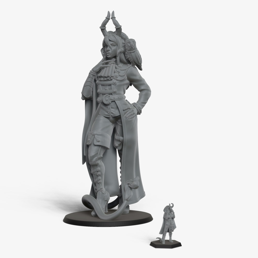 Amadeus: a custom collectible figurine
