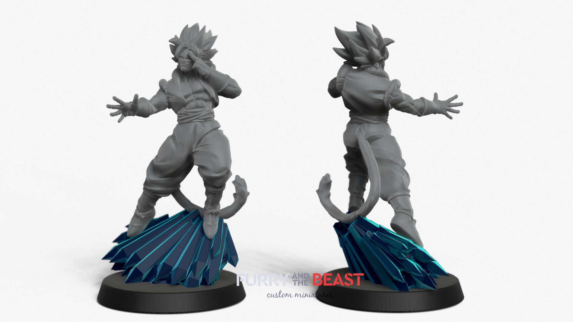 dragon ball style custom miniatures asuka