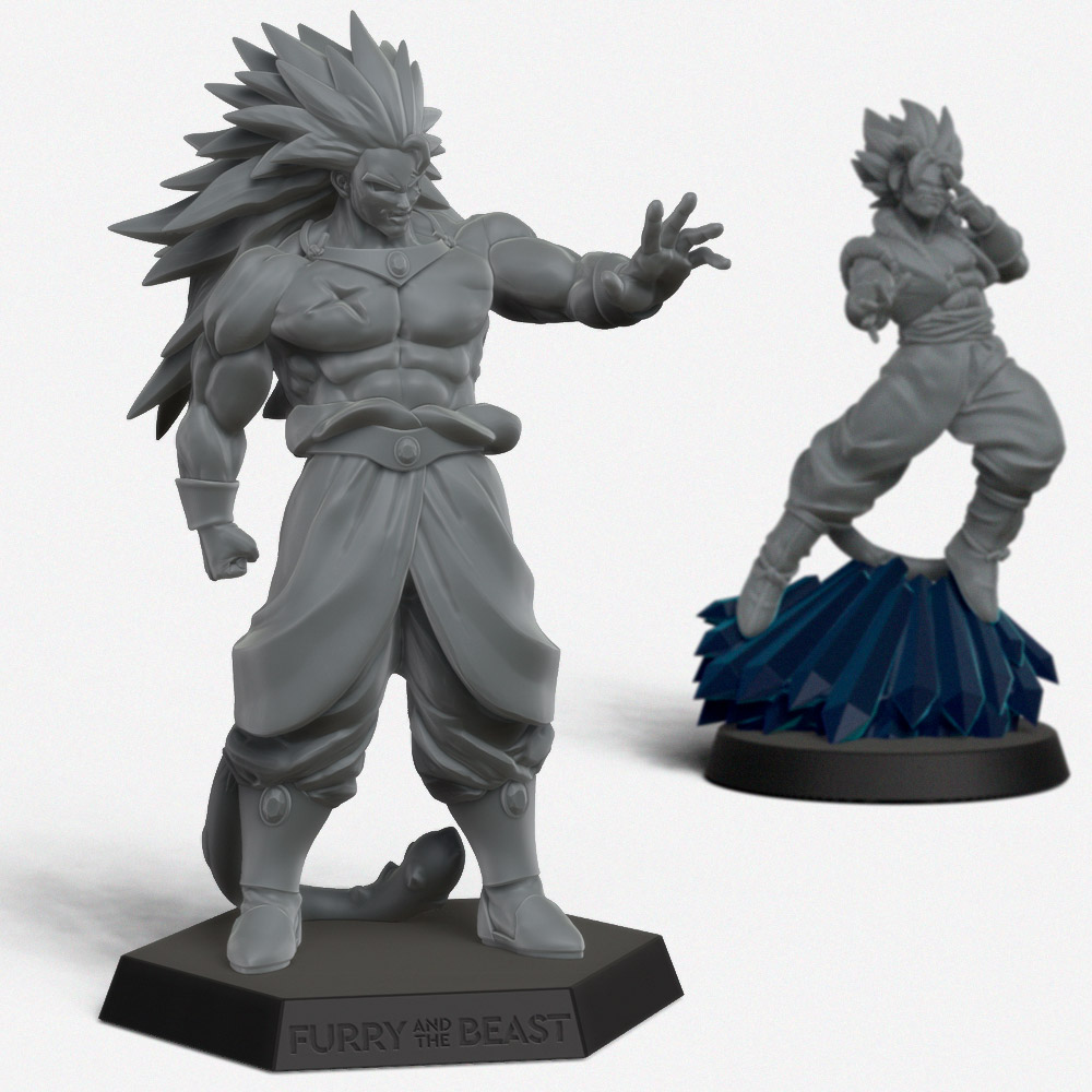 Dragon ball inspired fighters