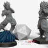 Dragon ball inspire custom miniature