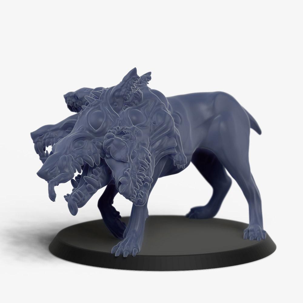 Howler, lizardwolf-like large monster