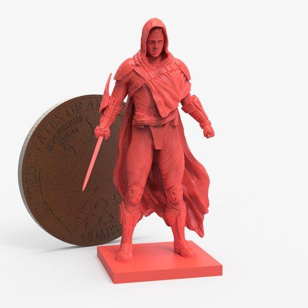 weak miniature not suitable for 3d printing