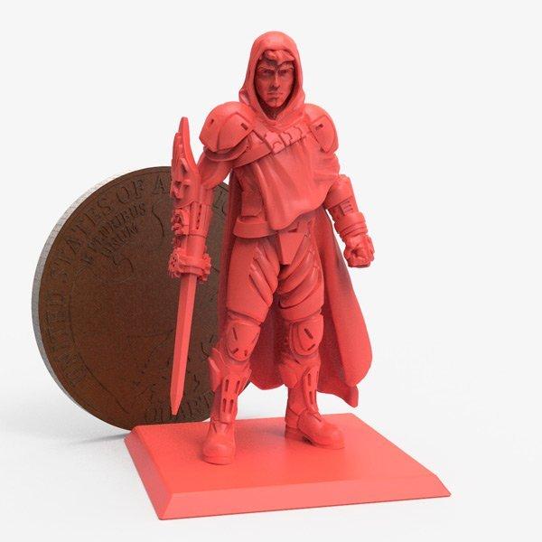 perfect miniature 3d printing friendly
