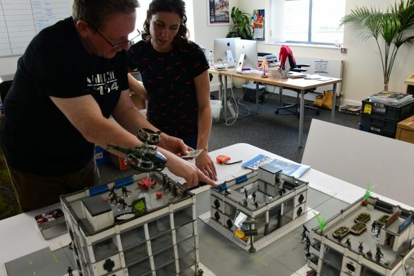 albedo patrol custom miniatures for kickstarter in terrain